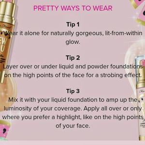 "Too Faced Makeup - 🍉Too Faced ""Dew You"" Luminous Primer"